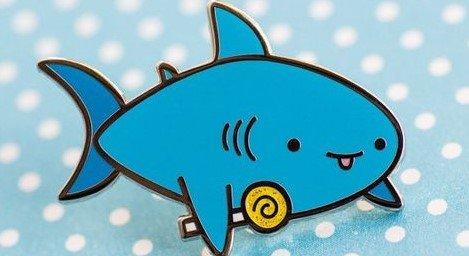 Candy shark plaatje korter