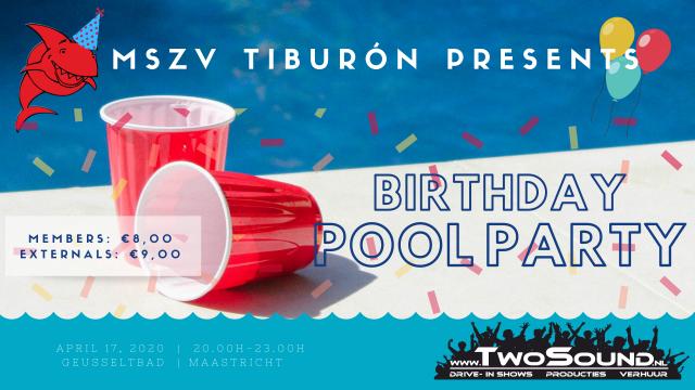 April 17: Tiburón's Birthday pool party