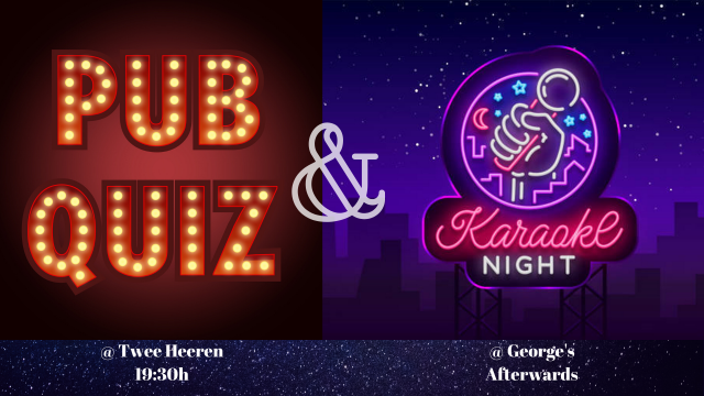 March 11: Pubquiz and karaoke