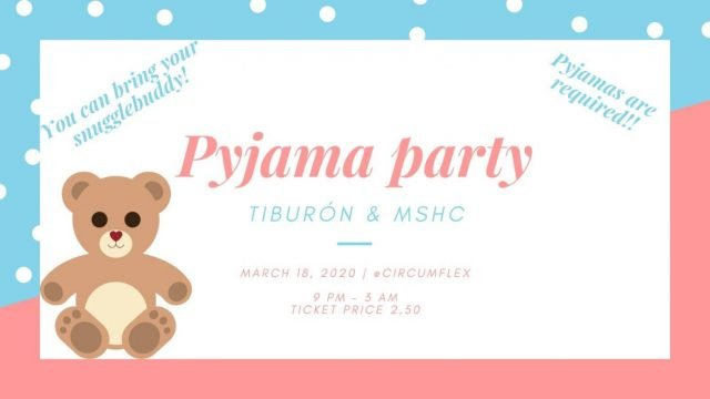 March 18: Pyjama Party with MSHC – CANCELLED