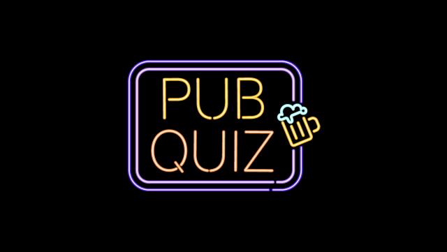 Online pub quiz